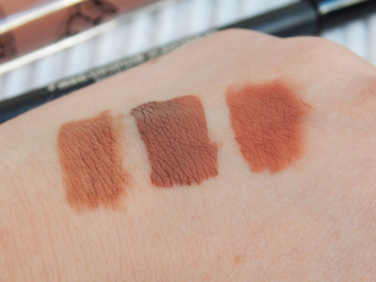 Kylie Cosmetics Dolce K Swatches 2
