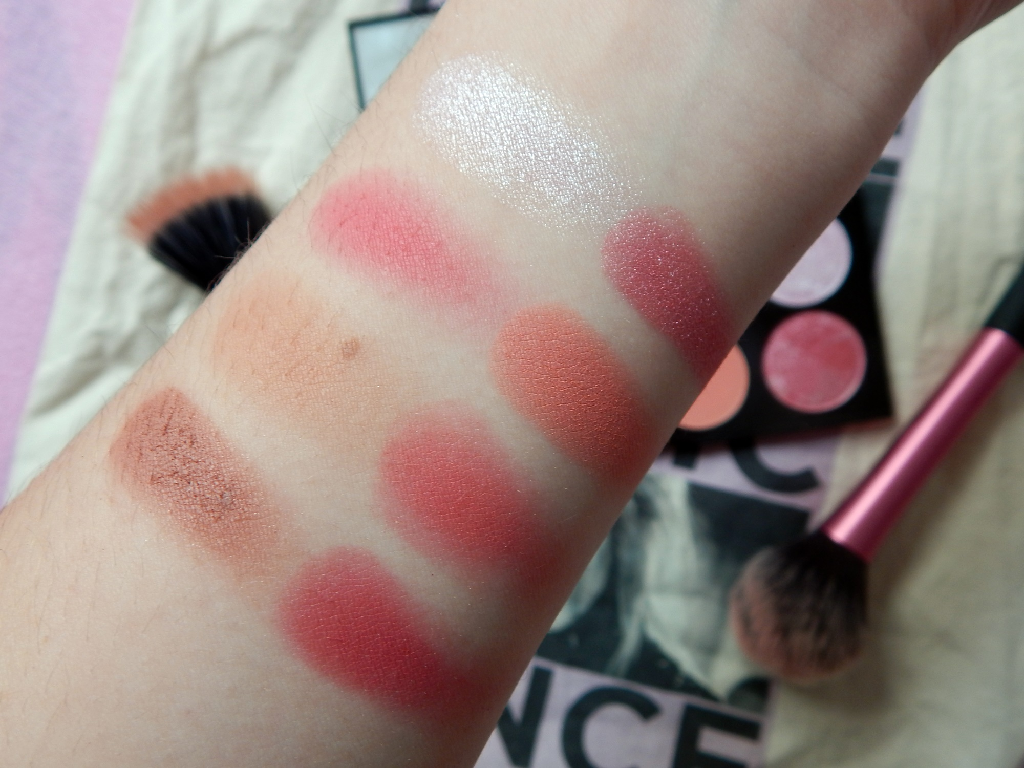 Makeup Revolution Sugar And Spice Ultimate Blush Palette Lipsticks Make Up May 8 2016 7