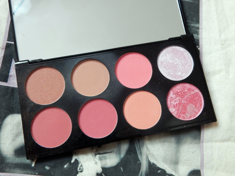 Makeup Revolution Sugar and Spice Ultimate Blush Palette Review